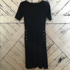 Ann Taylor Dress w/ pocket buttons LNC